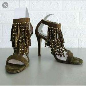 Aldo Glelian Suede Dress Sandals